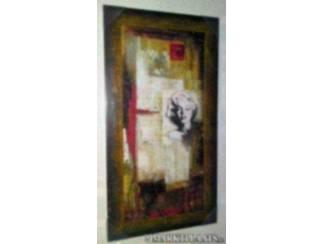 Schilderij marilyn monroe abstract a accessoires en decoratie - Decoratie schilderij wc ...
