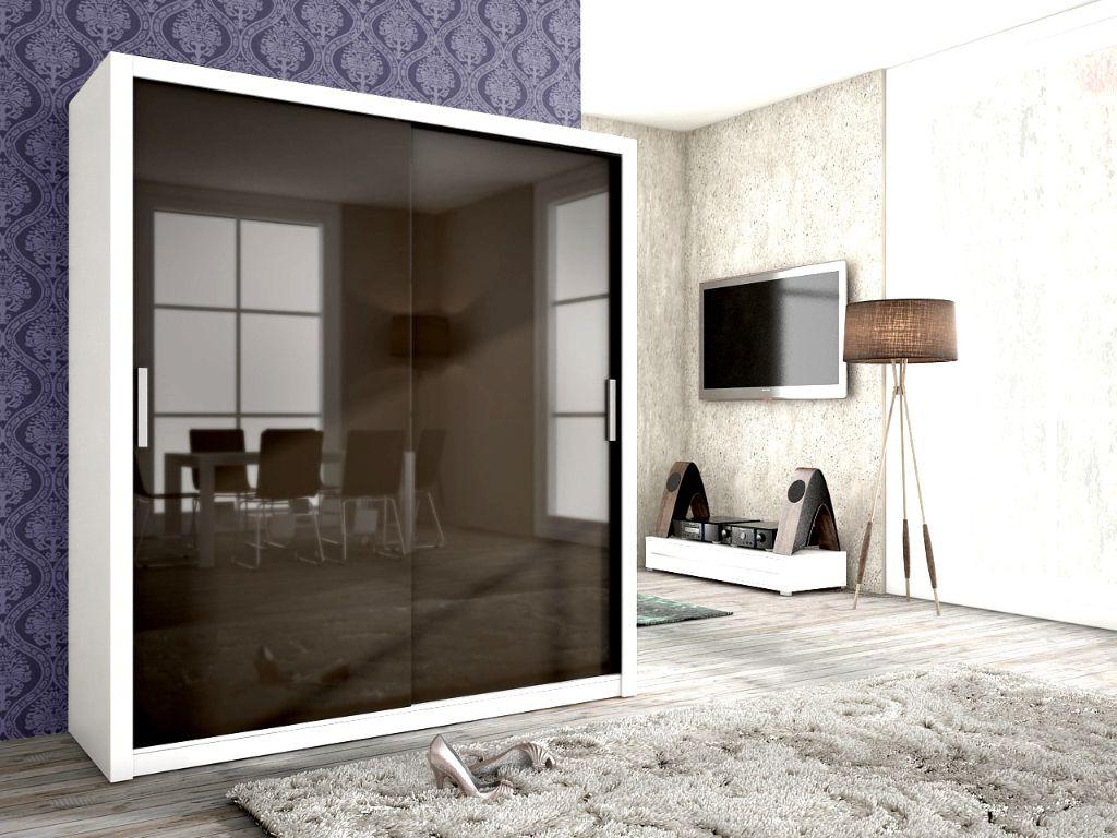 Voorraad moderne witte hoogglans zwarte kledingkast nieuw kasten en dressoirs - Kledingkast en dressoir ...