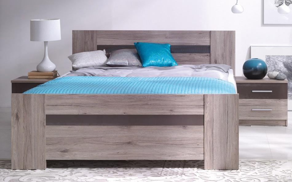 voorraad modern robuust tweepersoonsbed nu 269 nieuw slaapkamer