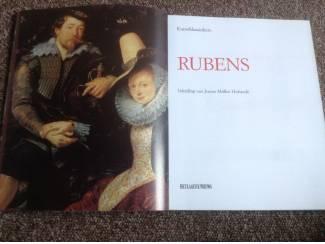 Boek v/d mooiste meesterwerken van schilder Rubens ,foto's