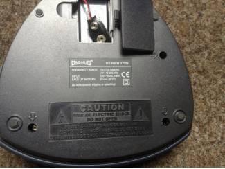 Audio Digitale radio, elektrisch of met 2 batterijen en draadanten