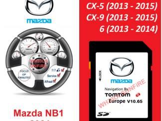 Mazda TomTom NB1 SD kaart Europa / Flitsers 2021