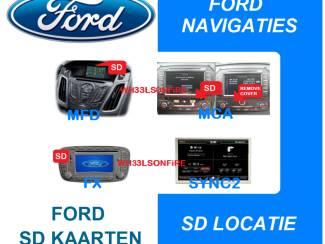 NIEUWSTE sync2 F9 ford sd kaarten : mca , mfd , fx