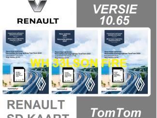 Sd kaart Renault Carminat / Carminat Live / R-Link V10.65