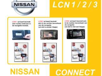 SD kaarten(2021) : Nissan Connect LCN 1V10 _ 2V6 _ 3V6