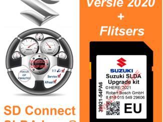 Suzuki Connect SLDA here® SD kaart europa 2021