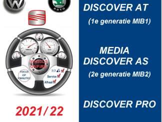 Discover Media AT/AS/Pro MIB1 MIB2 sd kaart 2021/22