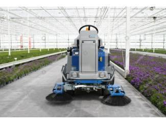 Tuinbouw Worteldoek veeg-/zuigmachine Stefix 135 Steenks Service
