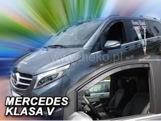 Mercedes Vito Viano zijwindschermen pasvorm donker getinte