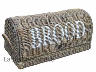 Broodtrommel van riet