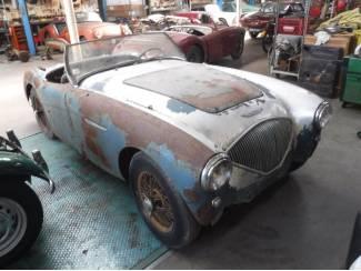 """Austin Healey 100/4 1955 """"to restore"""""""