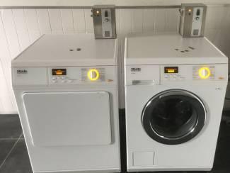 MIELE PROFESSIONAL wasmachine met muntautomaten betaalsysteem