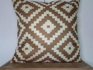 Kussenhoes Izaro Aztec Taupe   45  x 45 cm   GRATIS VERZENDING!