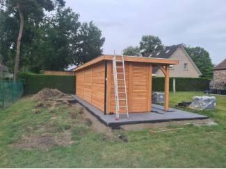 Tuinhuisjes en Meubelen Douglasvision buitenverblijf basis Excellent: 900x310 cm