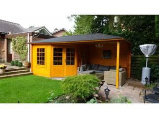 Tuinhuisjes en Meubelen Tuinhuis-Blokhut 3055 Z Plus: 576 x 300 x 263 (h) cm