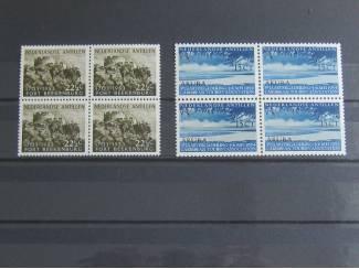 Ned. Antillen 245/246 in blokjes postfris - LEES -