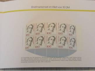 """Briefmarken-Set """"Briefmarken für Sie 10 DM 1991"""""""