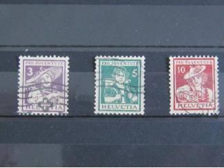 Zwitserland Mi. 130-132 ( cat. waarde Eur. 150,00 )