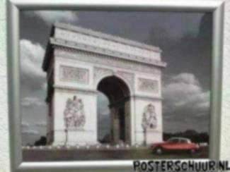 Parijs Citroën DS Snoek Arc de Triomphe Poster