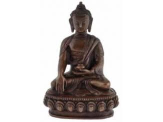 Koperen Beeldje Sakyamuni Boeddha Boedha