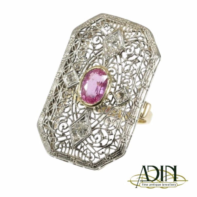 Antieke ring uit het Edwardiaanse tijdperk   Ringen