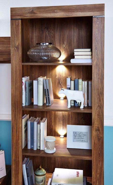 Top actie moderne robuuste boekenkast met led nieuw kasten en dressoirs - Moderne boekenkast ...