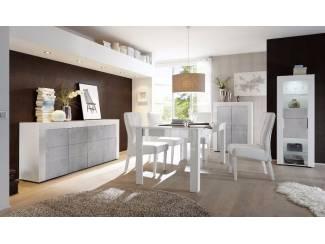 ACTIE complete hoogglans witte woonkamer inboedel Eos NIEUW ...