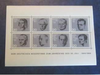 Blok 3 Duitsland postfris GRATIS ( lees )