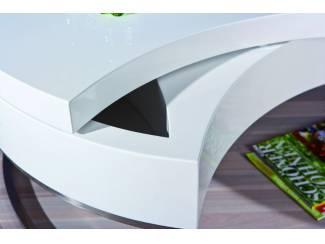 Tafels Moderne hoogglans witte draaibare salontafel NU 299 NIEUW