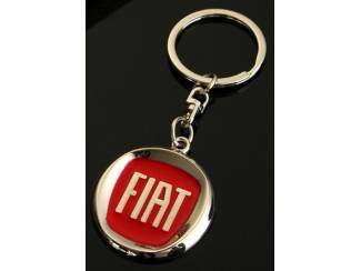 Fiat sleutelhanger(rood)