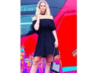 Glamour of Fashion Heav n Jurk chopin zwart
