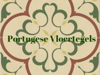 Tegels Groen en Geel Vives 1900 Portugese Vloertegels Kopen