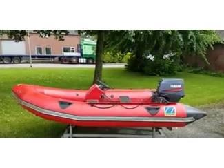 Rubberboot, Zodiac MK2 C.Futura met 30 PK Yamaha