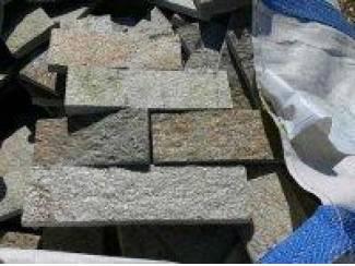 AANBIEDING echte granieten strips voor bekleden van wanden binnen