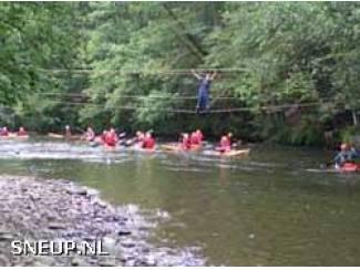 WATER SPORT VAKANTIE in de ARDENNEN kajakken rafting vissen enz.