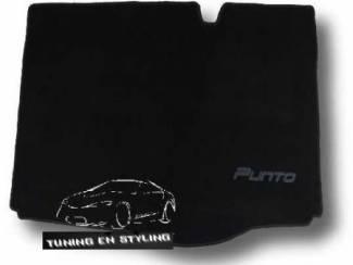 Fiat Kofferbakmat Velours met logo 500,Bravo,Punto,Linea Sedici