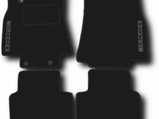 Mercedes-Benz onderdelen Velours automatten met LOGO MERCEDES W201 W202 W203 W210 enz