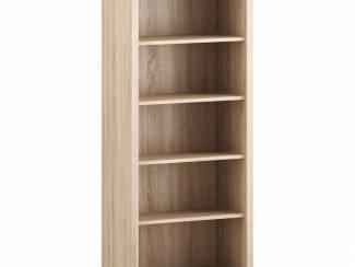 Moderne eiken boekenkast Veron kleur Sonoma eiken NIEUW
