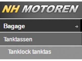 Accessoires Kappa RA311 en RA311R Tanklock tanktas | OPHAALKORTING