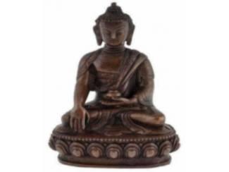 Koperen Beeldje Sakyamuni Boeddha Boedha Buddha Budha (CC)