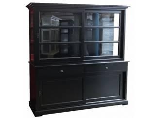 Buffetkast Uden zwart - zwart 200 x 210cm