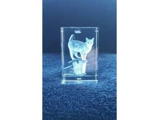 Katten | Toebehoren De mooiste foto van uw kat in 3D (driedimensionaal) !