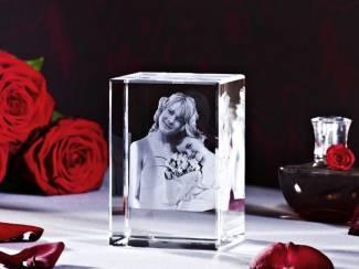 Uw mooiste foto driedimensionaal in kristalglas !