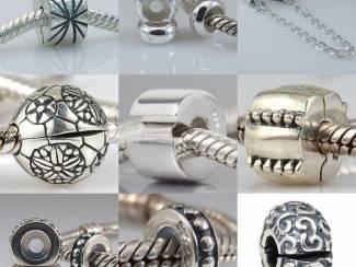Bedels Vanaf Euro 2,95 bedels echt zilver voor Pandora, Trollbeads, etc.