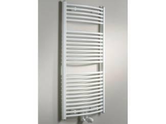 Sanifun handdoek radiator Medina Gebogen Centro 173,2 x 50 Wit.