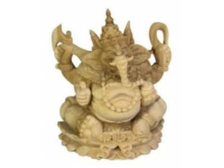 Accessoires en Decoratie Houten Boeddha Beelden Buddha Boeda Budda Boeda Ghanesi