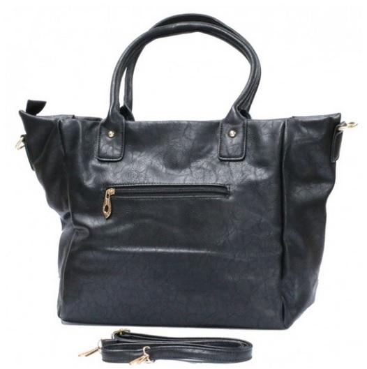 Zwarte handtas van het merk brakelenzo nu 24,99