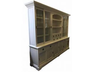 White wash buffetkast open vak 300 x 230cm