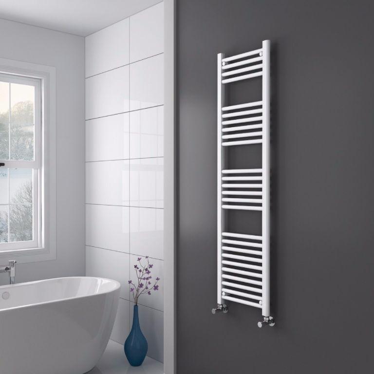 Sanifun handdoek radiator Medina 180 x 60 Wit.