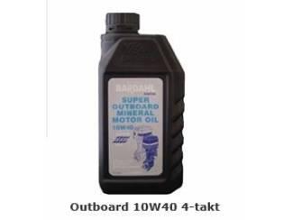 Bardahl Outboard 10W40 4-takt 1 ltr